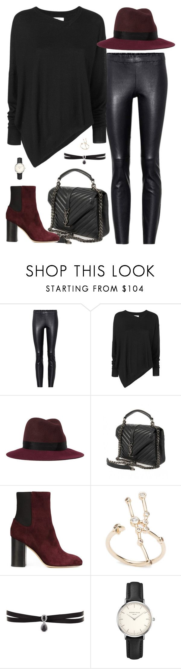 """Untitled #2969"" by briarachele on Polyvore featuring STOULS, Étoile Isabel Marant, rag & bone, Yves Saint Laurent, Fallon and ROSEFIELD"