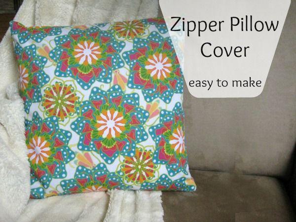Easy Zipper Pillow Cover & 25+ unique Pillow forms ideas on Pinterest | How to make pillows ... pillowsntoast.com