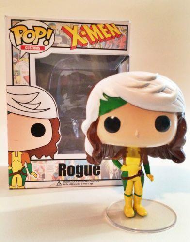 Custom Funko Pop! - Rogue (Marvel X-men) With Custom Box aaaah, I waaaaant!!! :)