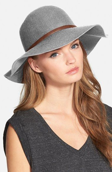 Free shipping and returns on Nordstrom Floppy Wool Hat at Nordstrom.com. Top off your urban-girl uniform with this felted wool hat designed with a floppy, wide brim that shields you from the sun (and admiring glances).
