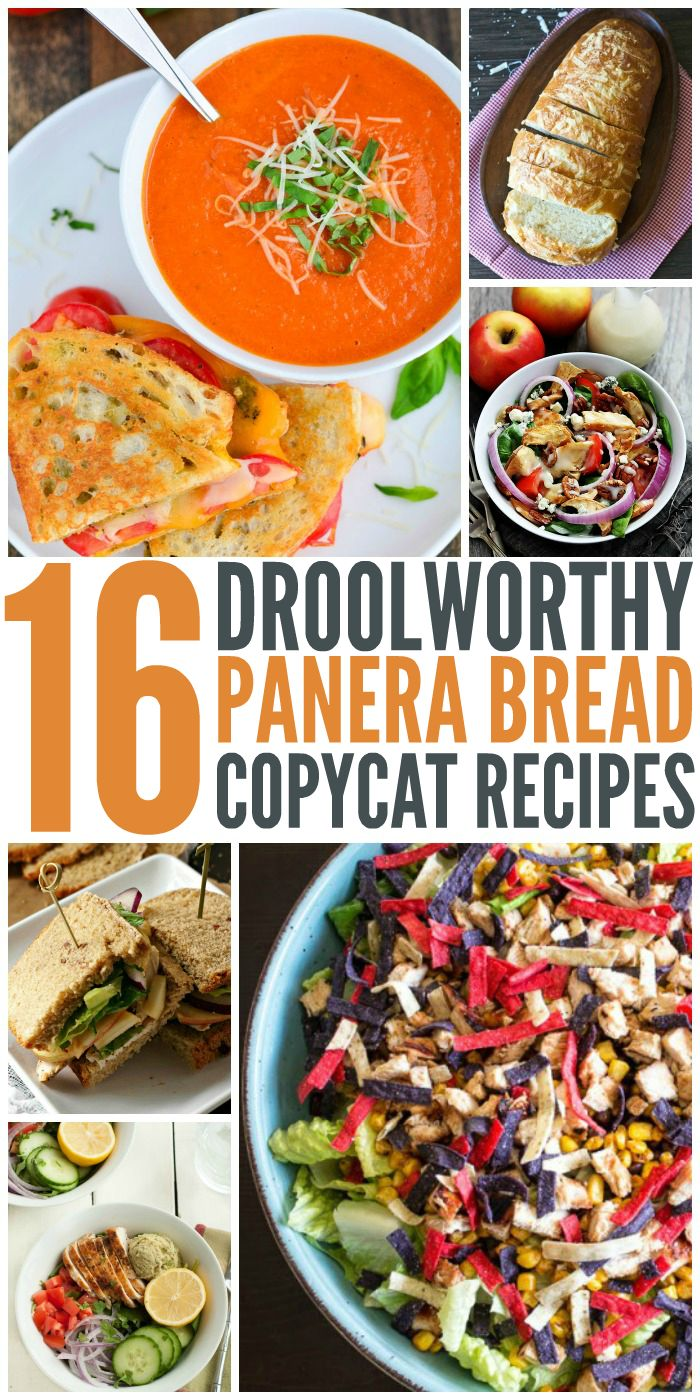 16 Copycat Panera Recipes You'll Want to Eat Every Day - One Crazy House