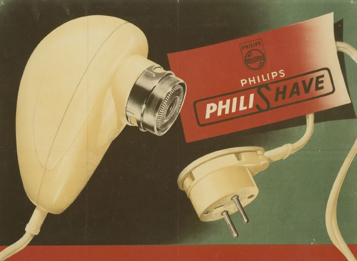 Philishave Egg ca. 1948