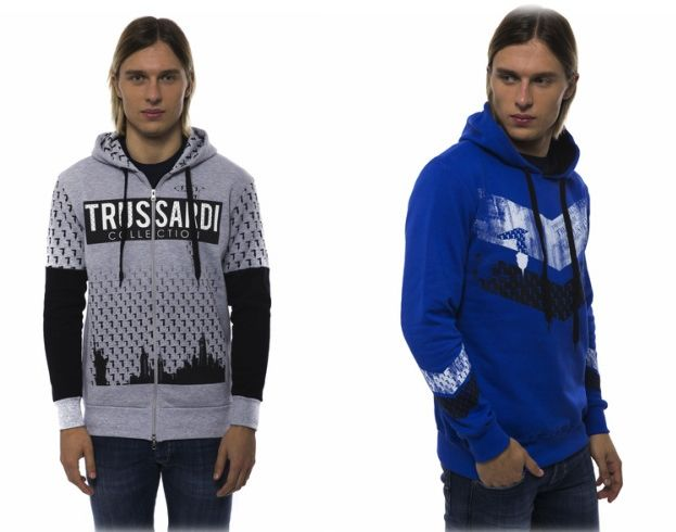 Trendy TRUSSARDI men's sweatshirts & hoodies: https://storebrandsvip.com/b2b/products/?category=1&gender=2&brand=25&page=5&_=1488289547493