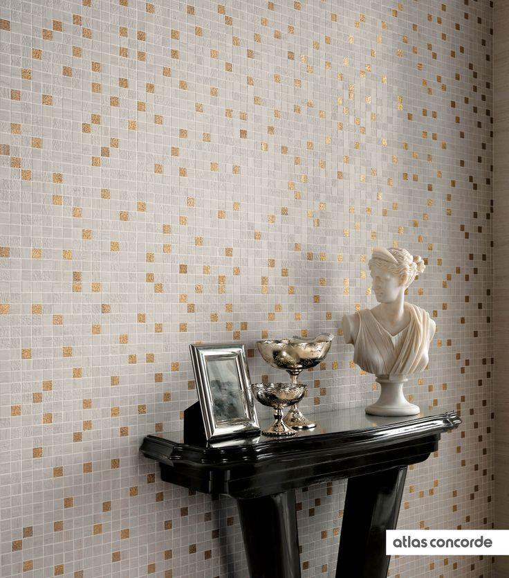 #SUNROCK travertino almond | #Gold | #Mosaic | #AtlasConcorde | #Tiles | #Ceramic | #PorcelainTiles