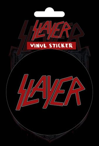 Sticker slayer classic logo http rockagogo com slayer