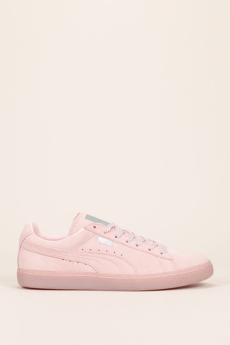 puma suede rose shine