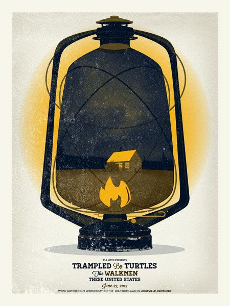 GigPosters.com - Trampled By Turtles - Walkmen, The - These United States