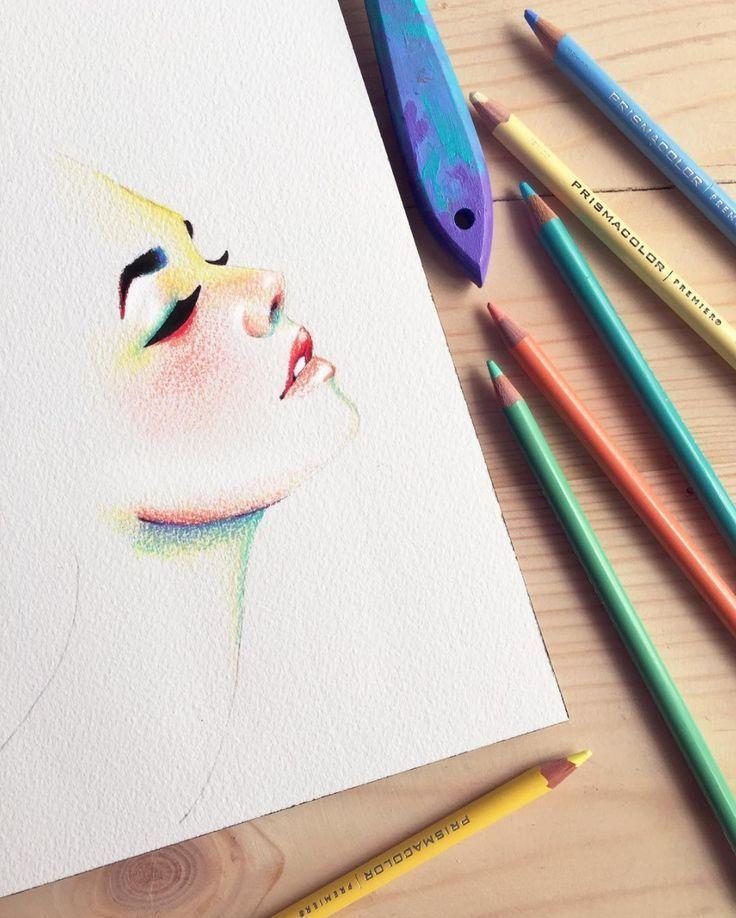 красивые картинки своими руками нарисовать цветными карандашами россии это имя