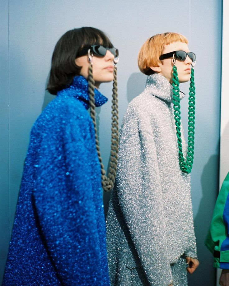 Backstage with Mark Borthwick during #Balenciaga #FW16 by balenciaga