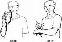 Image result for Good Morning in Sign Language
