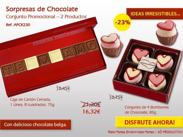 ¡No pierdas el tiempo buscando una manera original para enviar un regalo en el Día de San Valentín! Tenemos la solución para usted. ¡Míra aquí! http://www.mysweets4u.com/es/?o=2,5,202,49,0,0