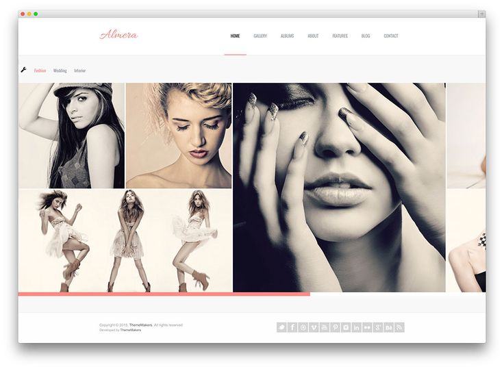 almera - light photography template