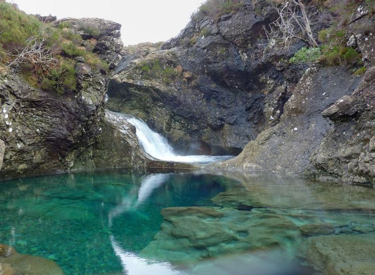 Isle of Skye, Scotland - Glen Brittle fairy pools!