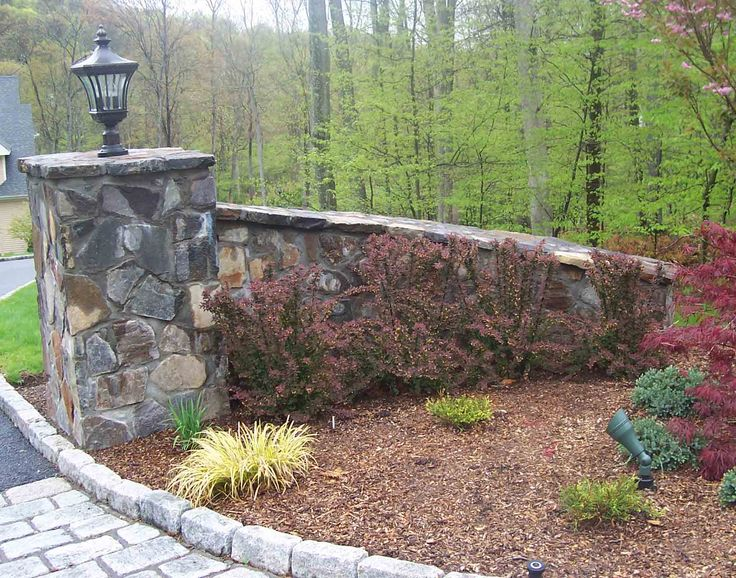 Stone Gate Pillars : Best images about driveway entrance on pinterest