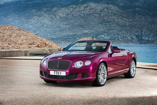 Bentley Reveals 2014 Continental GT Speed Convertible