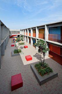 dps kindergarten school - archkids. arquitectura para niños