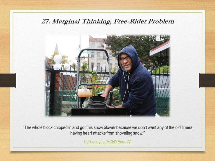 Marginal Thinking, Free-Rider Problem #HONYEcon #teachecon #economics #econed #K12EconEd
