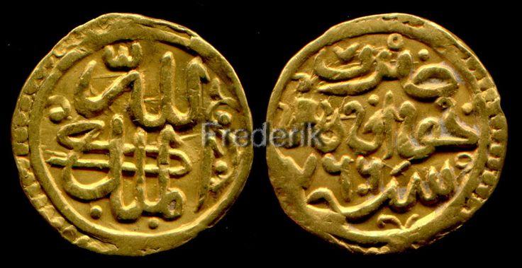 Gold dinar Sufid Khwarizm 766.