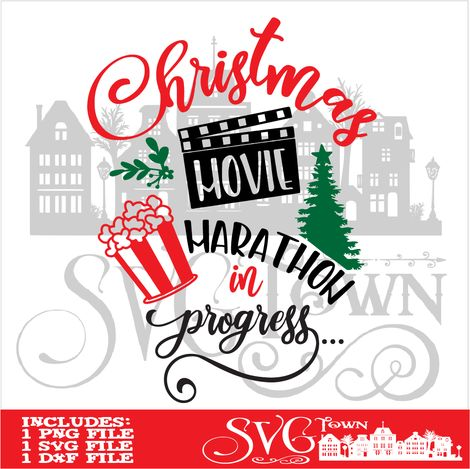 Download Christmas movie Marathon in progress | Svg design, Cricut ...
