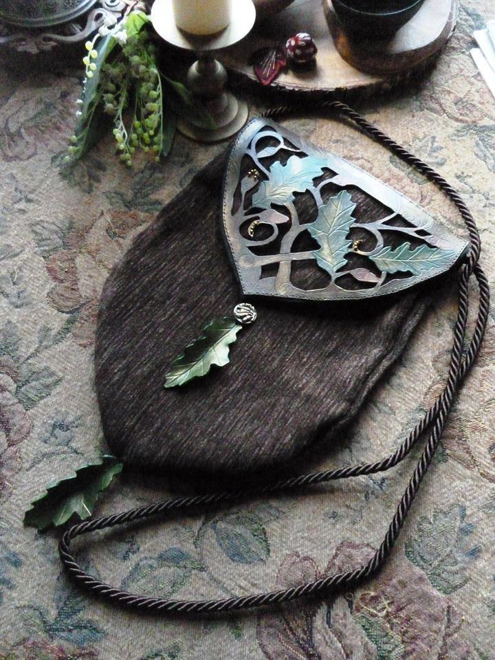 elven *oak leaves* handbag <3