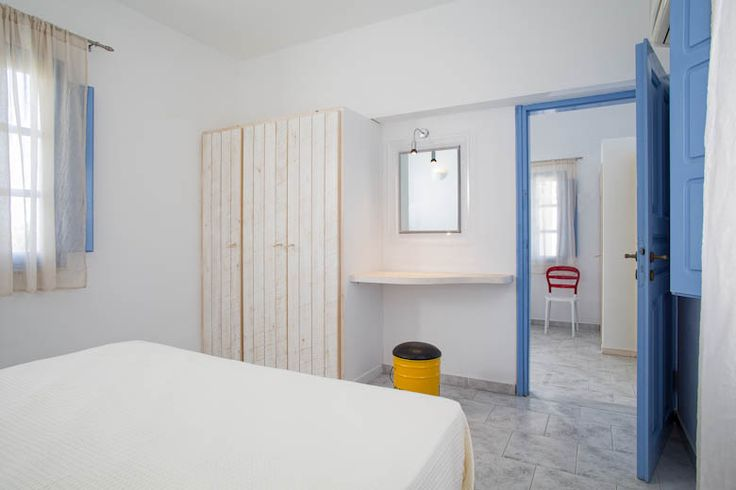 simplicity, discreet touches of colours inspired by #Greeksummer and dreamy accommodation in #MarilliaVillage #Santorini #Island #PerivolosVillage