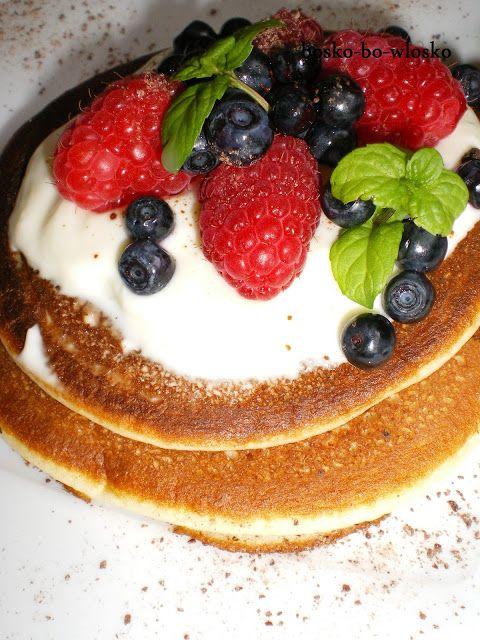 Owocowe Pancakes. Idealne na zdrowy początek dnia! :) takeafruit.pl