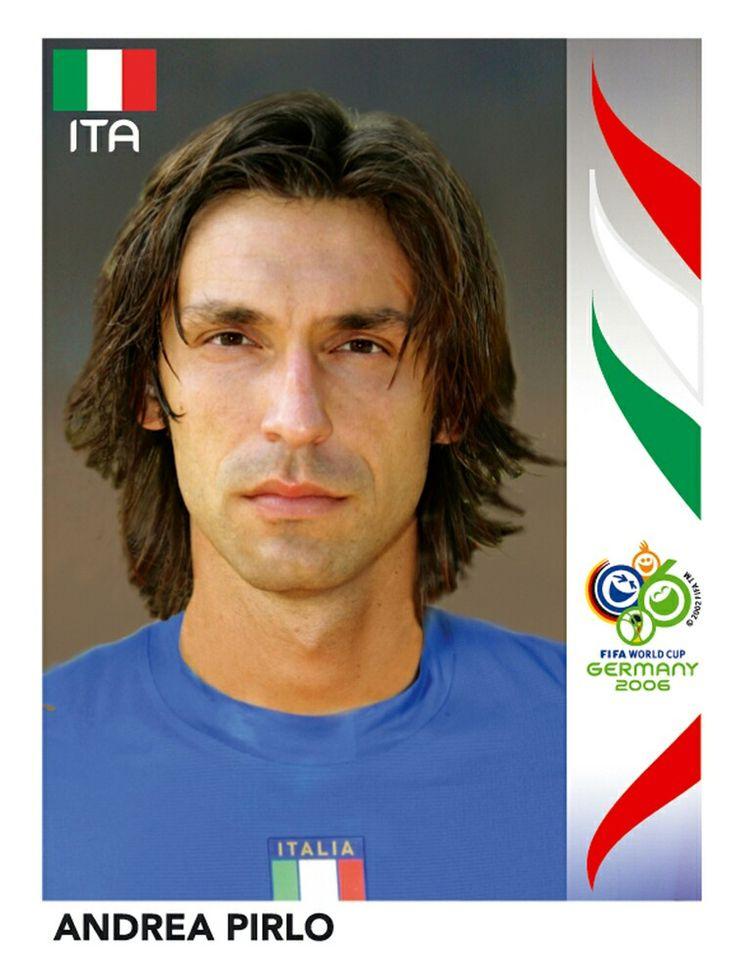 333 Andrea Pirlo - Italia - FIFA World Cup Germany 2006