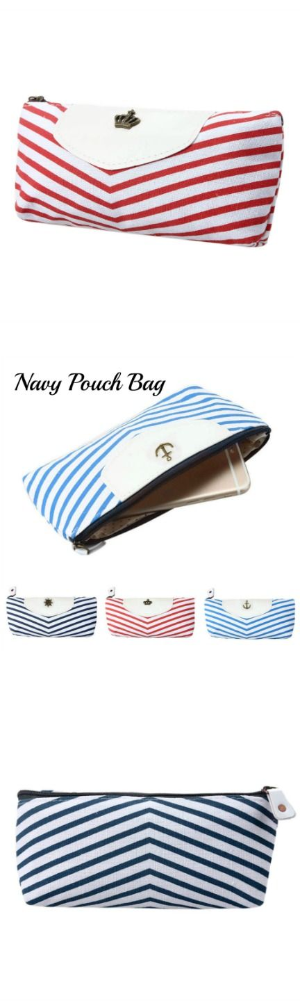 Navy Pouch Bag! Click The Image To Buy It Now or Tag Someone You Want To Buy This For.  #Navy