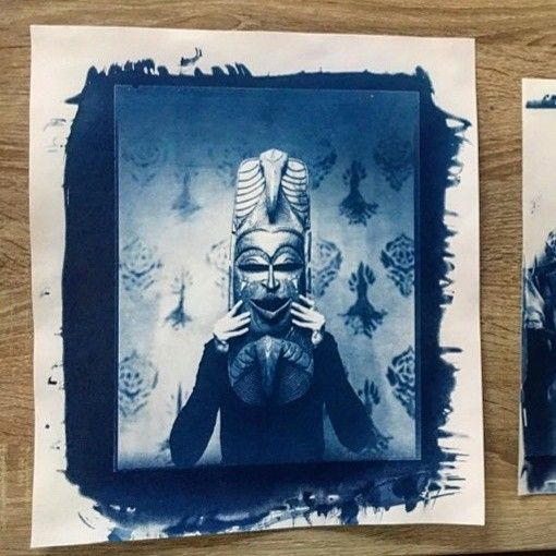 Miko Severa 2018.cyanotype photography