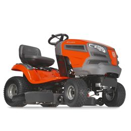 Husqvarna YTH18542:Husqvarna's yard tractors offer premium performance with quality results. Their compact size makes them easy to maneuver and require less space for storage. Features such as fender-mounted cutting height adjustment, adjustable seat and an ergonomic steering wheel make these tractors simple and comfortable to operate. All tractors feature hydrostatic transmissions for smooth, variable forward and...