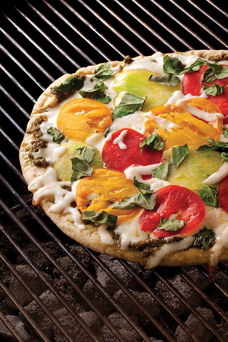 Caprese Pizza | Vegetarian Times