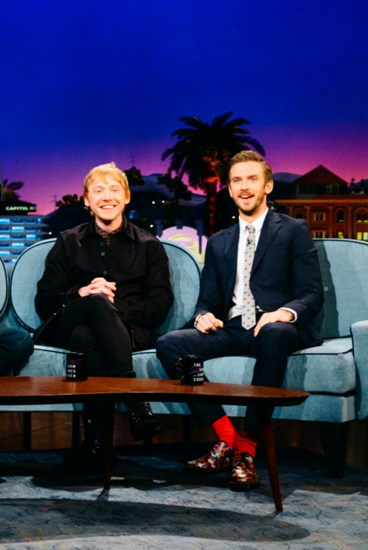 Rupert Grint & Dan Stevens | The Late Late Show with James Corden