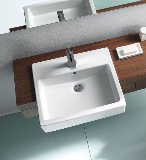 Duravit Vero Semi Recessed Basin Garage Bathroombathroom Stuffbathroom