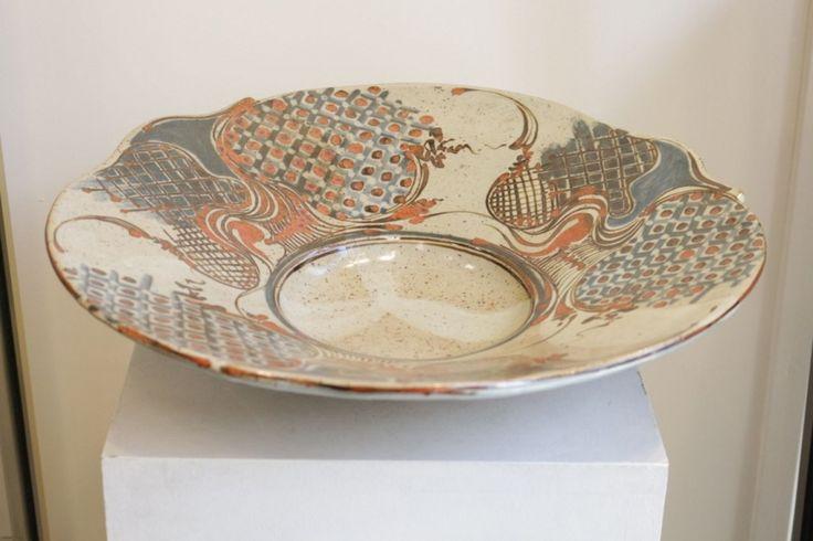 Jean-Claude de CROUSAZ - Grande Coupe en céramique