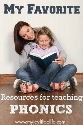My favorite resources for teaching phonics