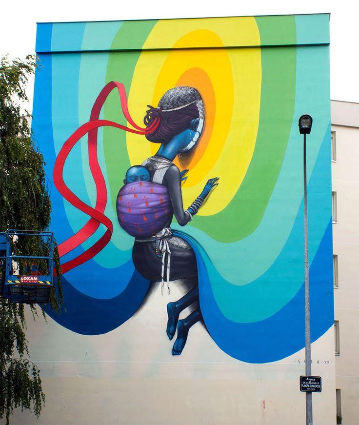 Julien Malland Seth Globepainter mural street art14