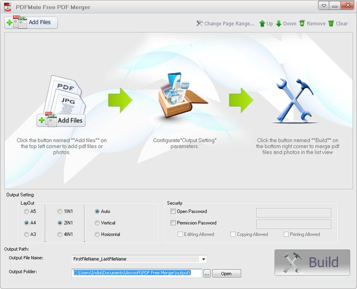 Anvsoft has released a new PDF Software for managing PDF documents called PDFMate Free PDF Merger. Please don't go by the name of the software. It's not a simple PDF Joiner, rather can delete specific page or range of pages from a PDF and can merge PDF with the remaining pages. It can also change print layout of PDF documents and encrypt it. It is also able to convert BMP, JPG, PNG, TIF graphic files to PDF and can join multiple such files in a single PDF.