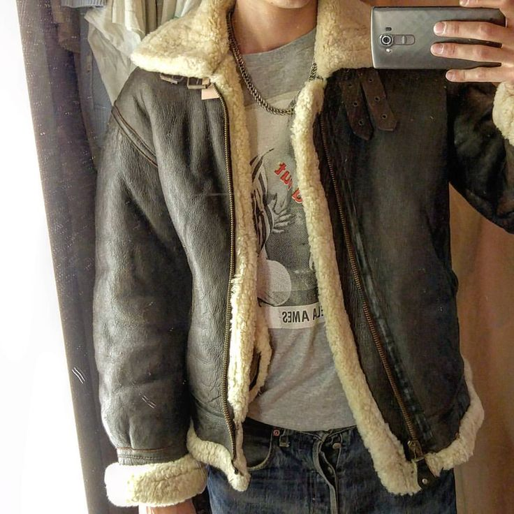 Australian sheepskin bomber jacket – New Fashion Photo Blog