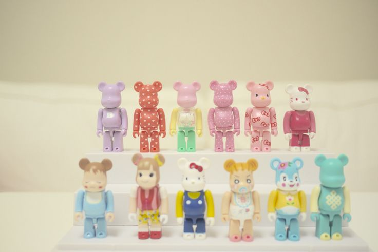bearbrick lovely