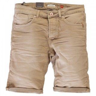 korte broek cars heren jeans kleur khaki € 44,95