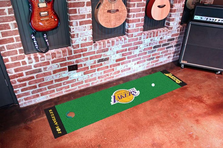 Los Angeles Lakers 18 x 72 Putting Green Runner: Officially NBA licensed Los Angeles Lakers putting… #Sport #Football #Rugby #IceHockey