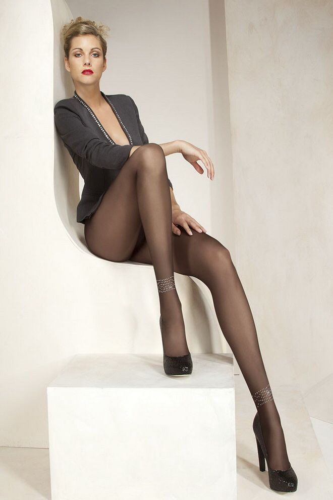 pantyhose legs high Sexy heels and