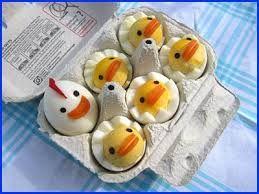 kip en kuikens uit het ei