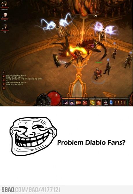 Diablo is already dead in asia. Problem?