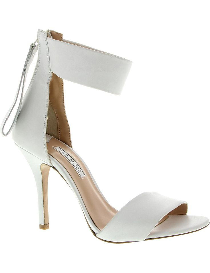 Lorelle High Heel Sandal With Ankle Strap #tonybianco #djstyle