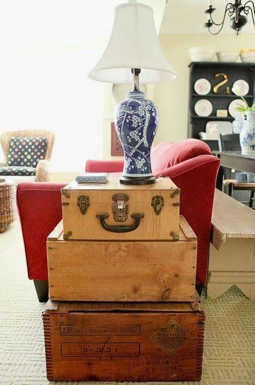 Чемодан в интерьере   #чемодан