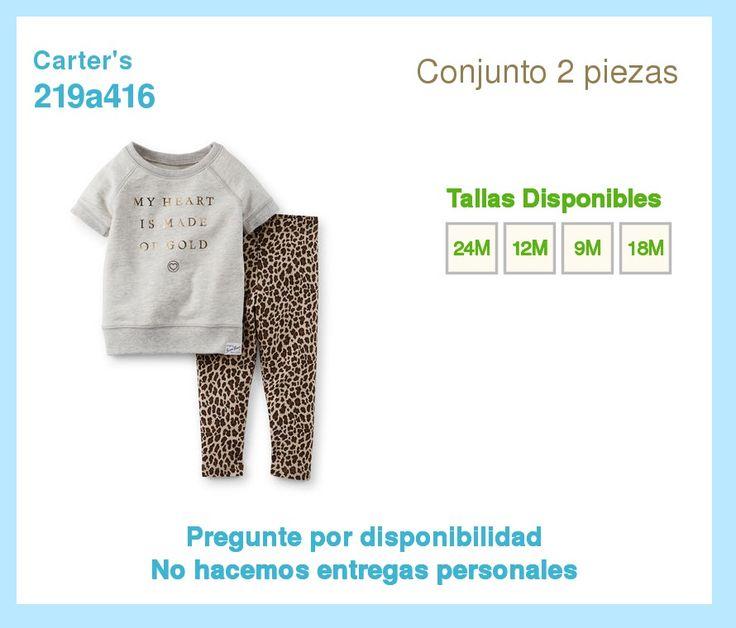 Ropa Carters. Para Bebes. Varones Y Hembras. Niños Y Niñas - BsF 1.699,00 en MercadoLibre