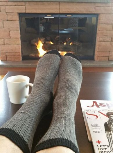 """Alpaca Sock -The new """"OutdoorAdventure"""" feature less bulk (fits in regular shoes easily) and an active design of reinforced heel and toes. It has a unique knit"""