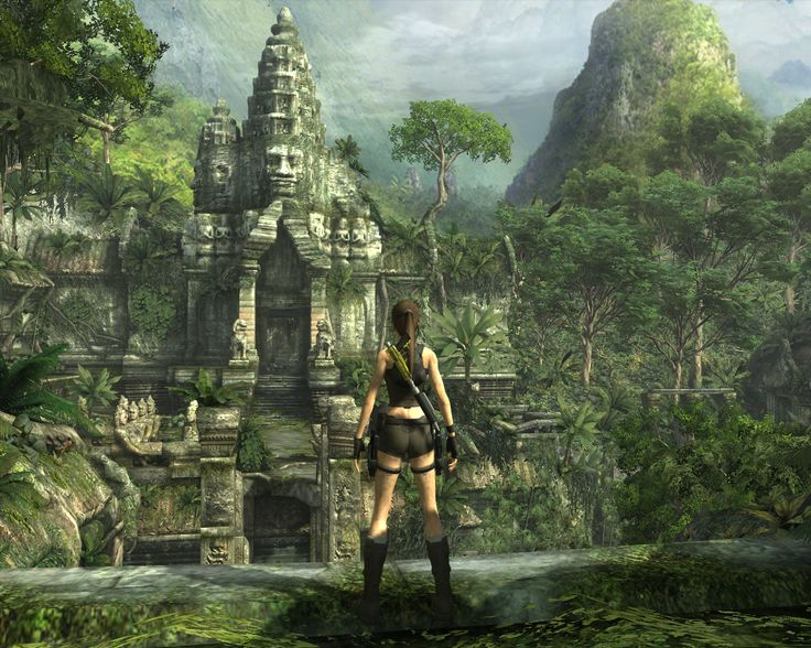 Tomb Raider Underworld Concept Art