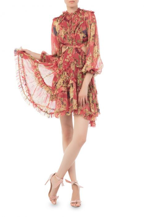 61db07cee2ac6 COM | Zimmermann - Melody Lace Up Short Dress - Dresses - Shop by Category  - Clothing